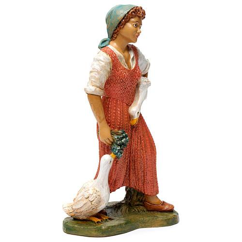 Donna con due anatre 30 cm 4