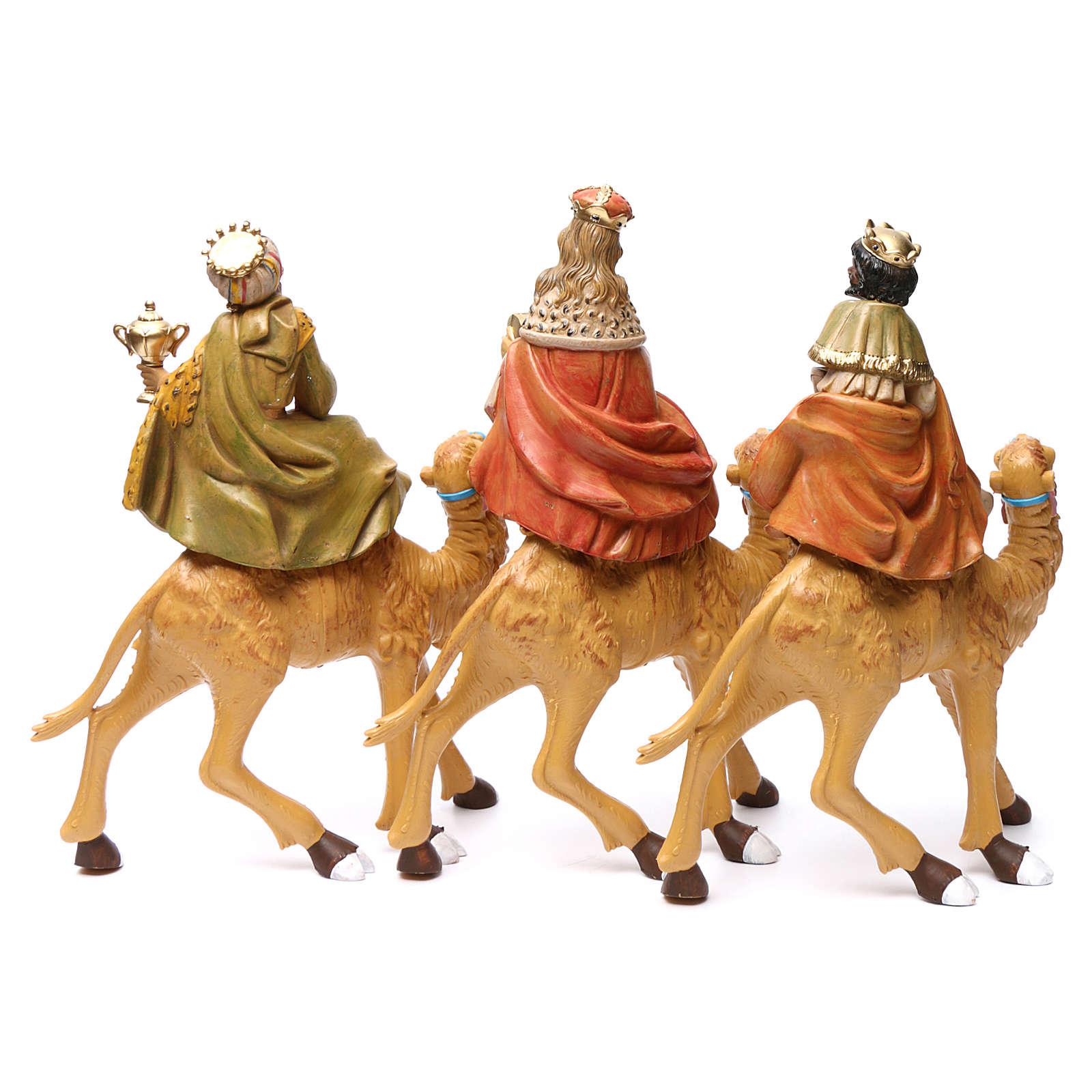 Re Magi su cammelli 30 cm 3 pz 3