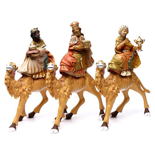 Re Magi su cammelli 30 cm 3 pz 1