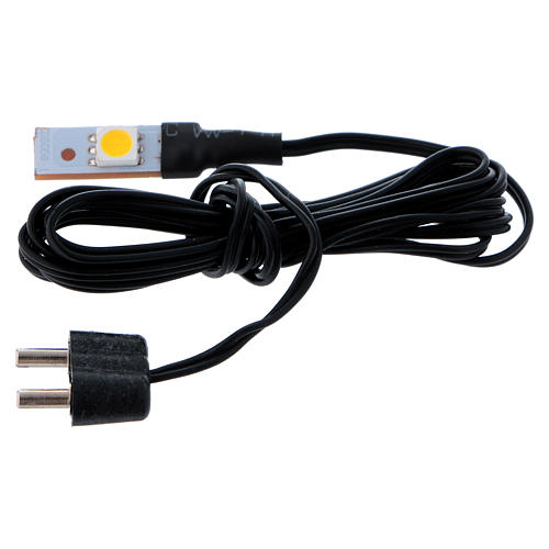 Led blanc plat simple bas voltage 1