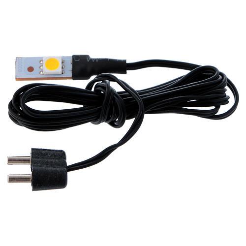 LED branco plano individual de baixa tensão 1
