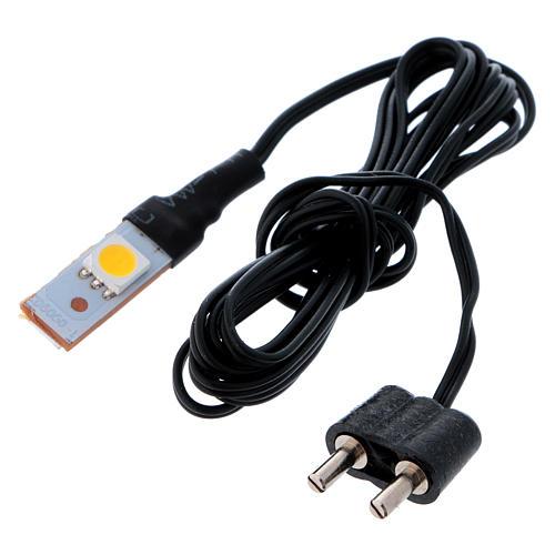 LED branco plano individual de baixa tensão 3