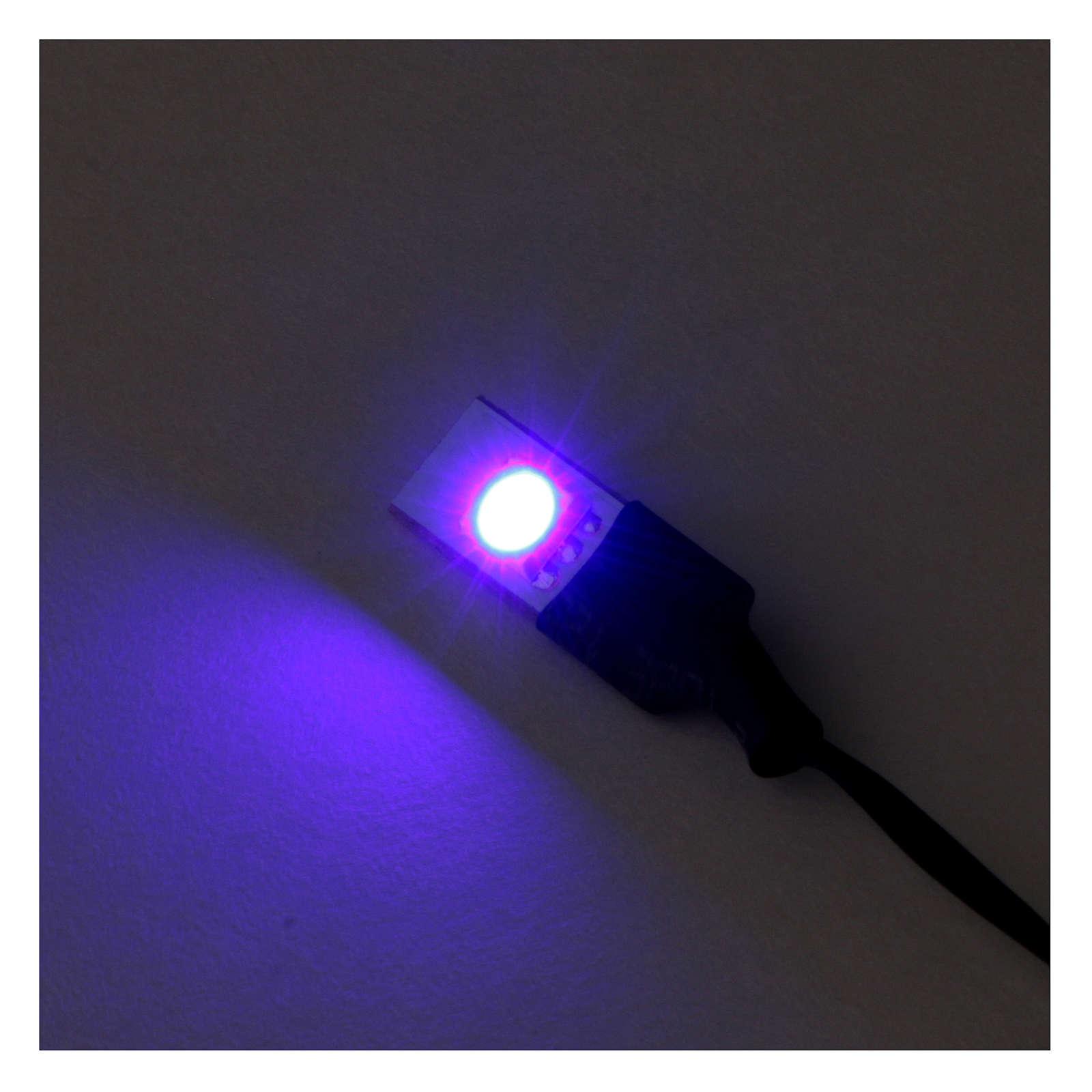 Blaues Led Licht Niederspannung Kabel 4