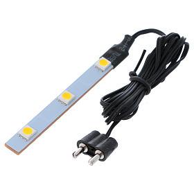 Triple flat low-voltage white led light s3