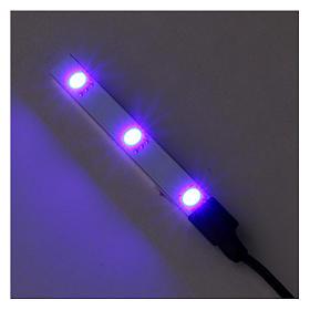 Flat Blue LED triple light low voltage s2