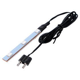 Flat Blue LED triple light low voltage s3