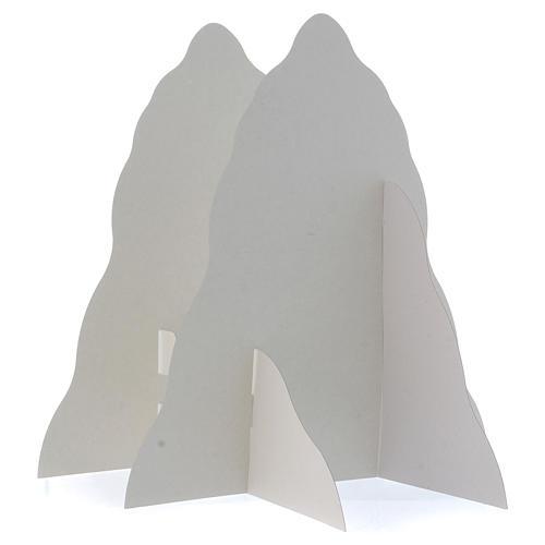 Set montagna in rilievo da montare 95x65 (foglio A1) h montagna 35 cm 3