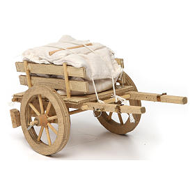 Carro con sacchi 10x15x10 cm s2