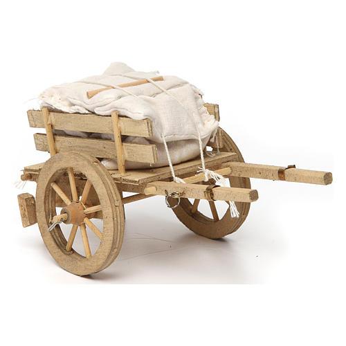 Carro con sacchi 10x15x10 cm 2