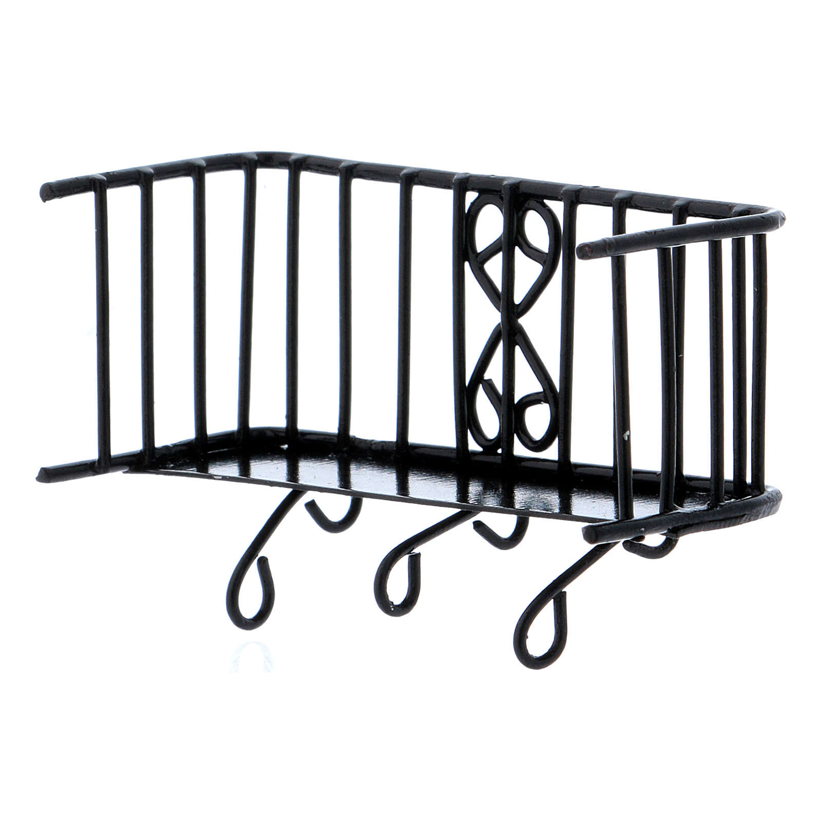 Balcone in ferro 3x5x2,5 cm 4