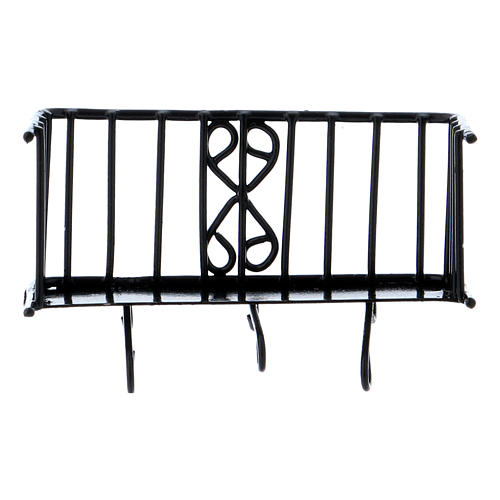 Balcone in ferro 3x5x2,5 cm 3