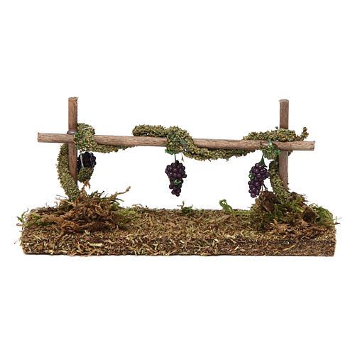 Vigne avec raisin 5x15x5 cm 1