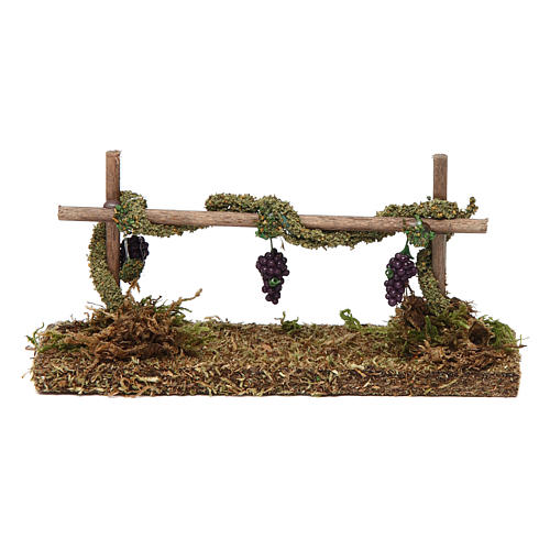 Winorośl z winogronem 5x15x5 cm 1