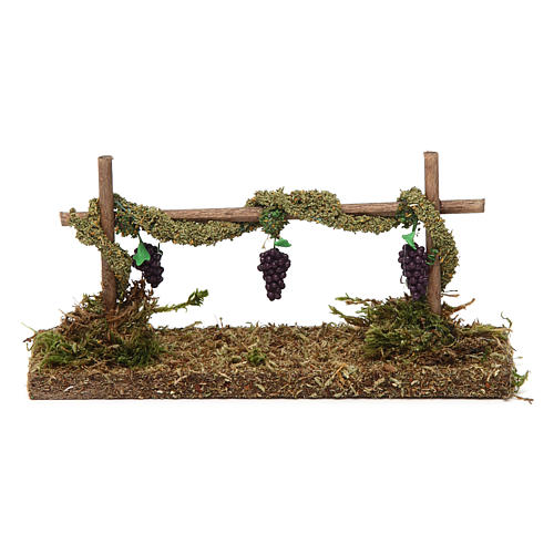 Vine with Grapes 5x15x5 cm 4