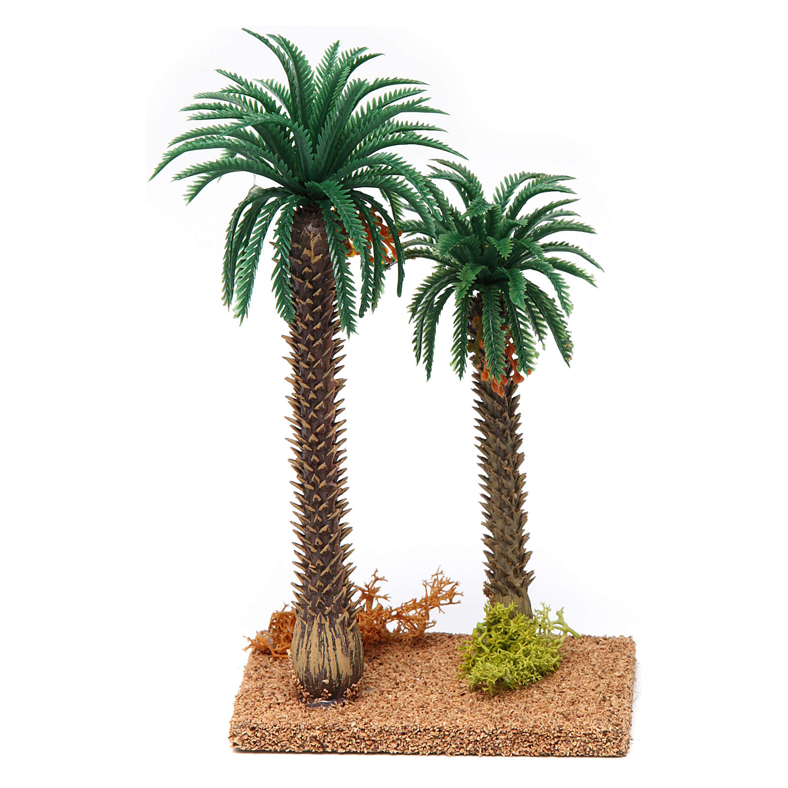 Double palm tree 20x10x5 cm 4