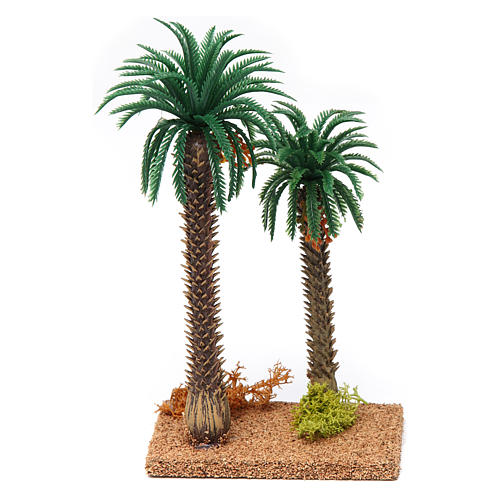 Double palm tree 20x10x5 cm 1