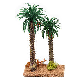 Palmier double 20x10x5 cm s1