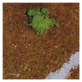 Prairie en papier 70x50 cm s2