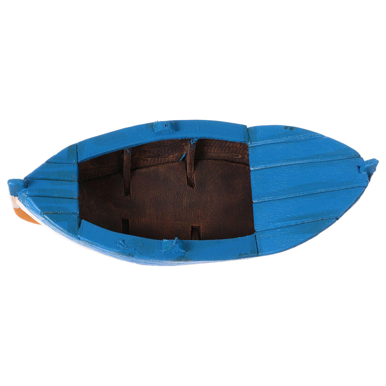 Bote de remos en Miniatura 7x21x9 cm 4