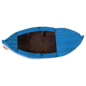 Bote de remos en Miniatura 7x21x9 cm s5