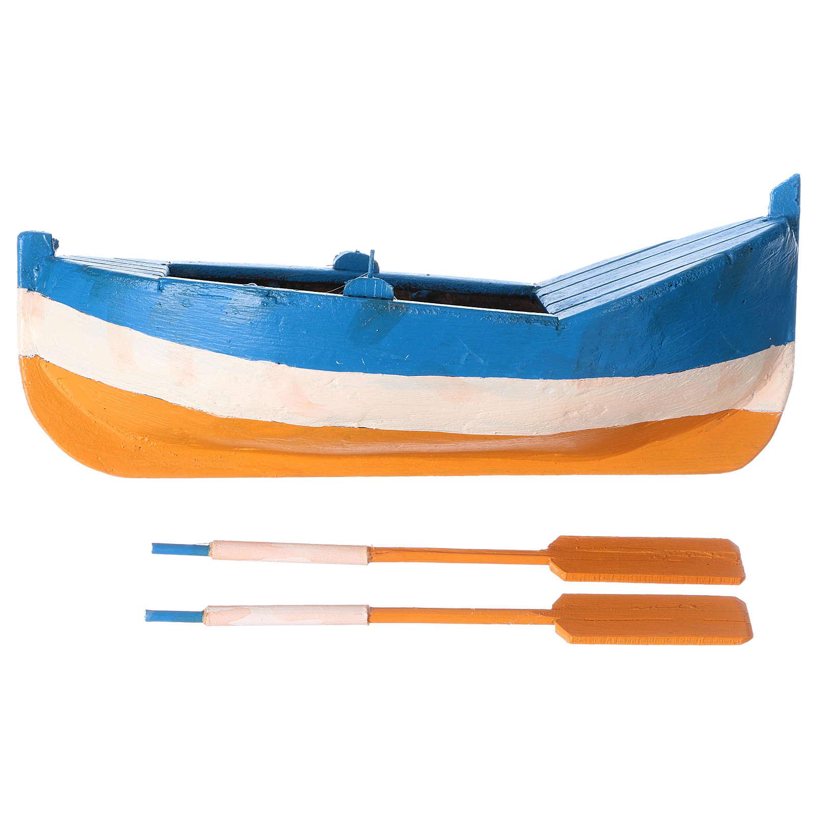 Barca per presepe da 10 cm 4