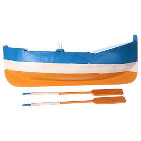 Small boat in wood for Nativity Scene 12 cm s4