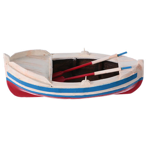 Barca gozzo presepe statuina 10 cm 1