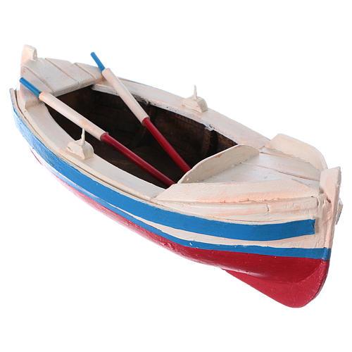 Barca gozzo presepe statuina 10 cm 3