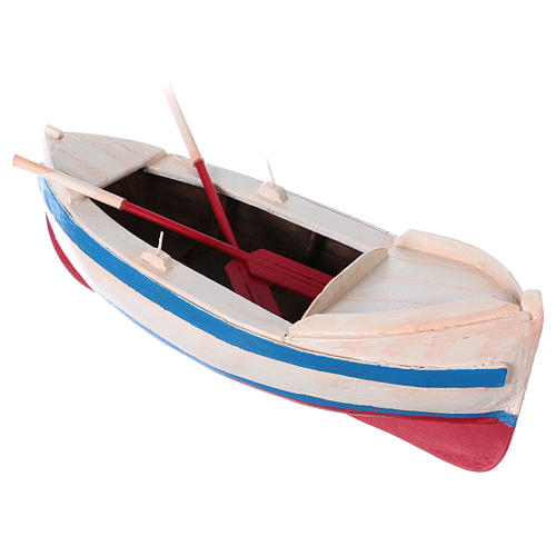 Pequeño barco belén estatua 12 cm de altura media 3