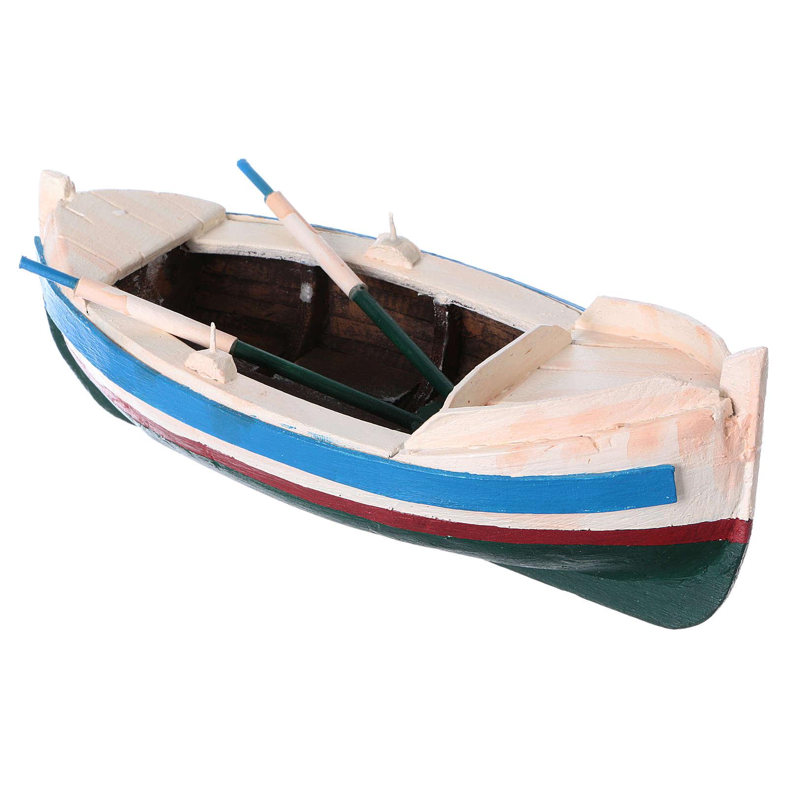 Pequeño barco pastor 10 cm de altura media 4