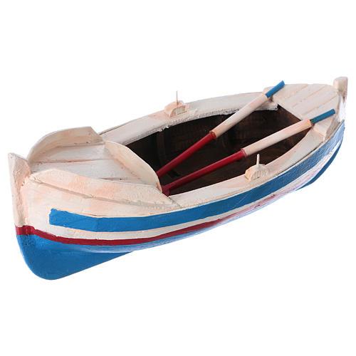 Small boat for Nativity Scene 10 cm 2