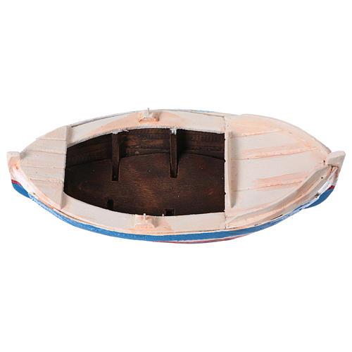 Piccola barca presepe da 10 cm 5
