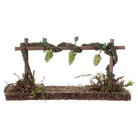 Row of vines for Nativity scene 6x14x5 cm s1