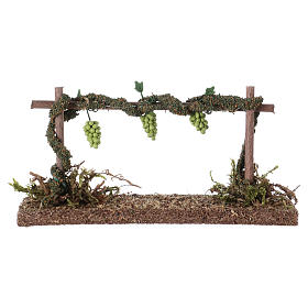 Row of vines for Nativity scene 6x14x5 cm s2