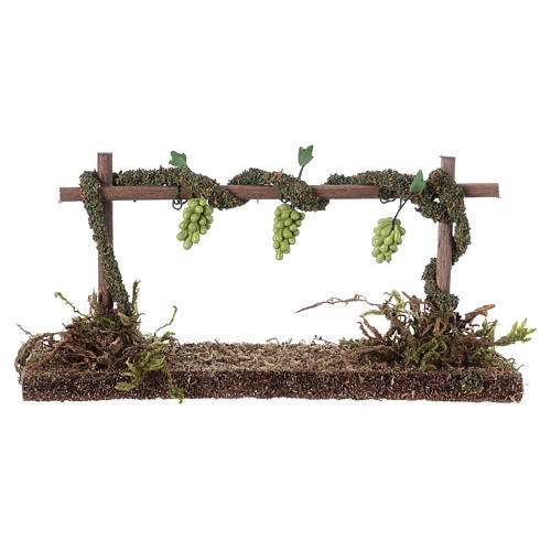 Row of vines for Nativity scene 6x14x5 cm 1
