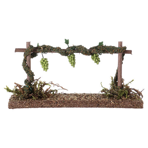 Row of vines for Nativity scene 6x14x5 cm 2