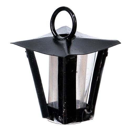 Lantern for DIY Nativity Scene real height 2.5 cm 2