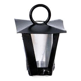 Luzes e Lamparinas para o Presépio: Lamparina bricolagem presépio altura real 2,5 cm