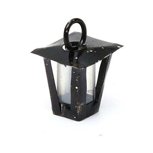 Lantern for DYI Nativity real h 1.5 cm 2