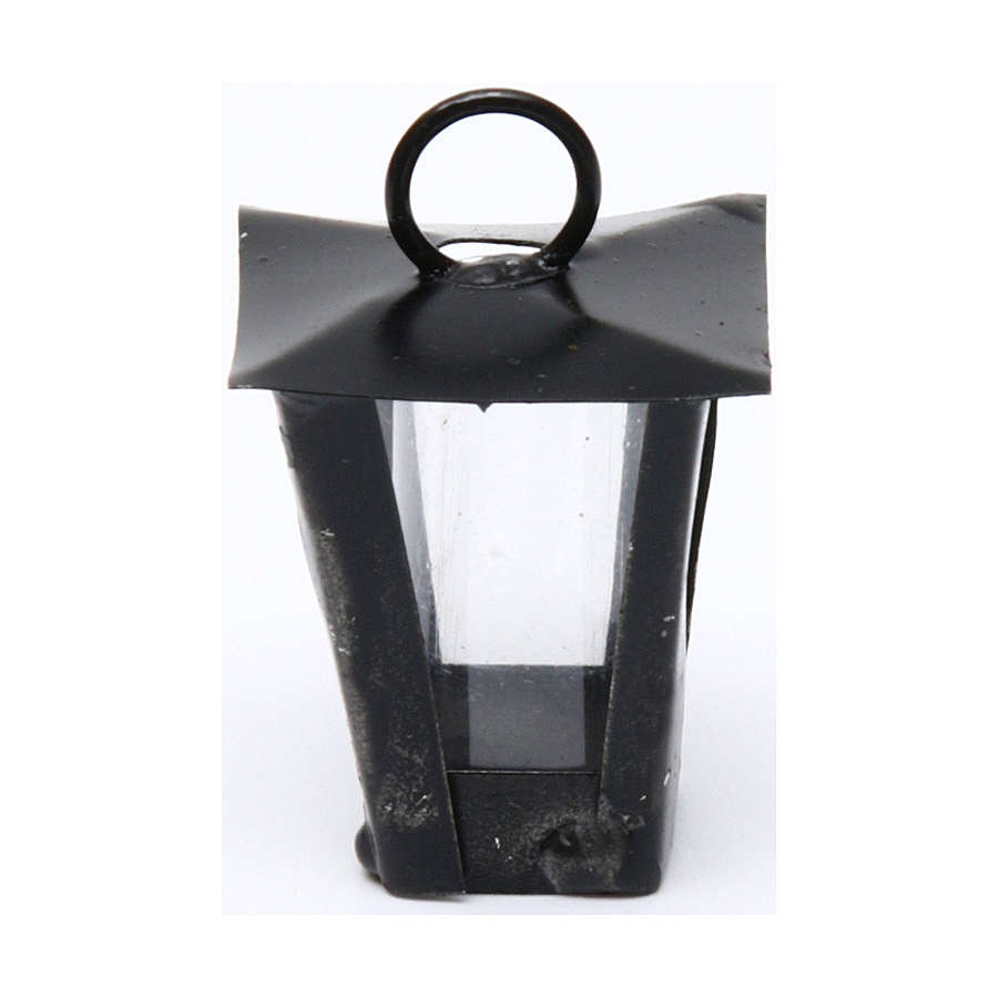 Lantern for DIY Nativity Scene real height 3 cm - 12V 4