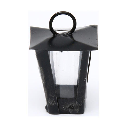 Lantern for DIY Nativity Scene real height 3 cm - 12V 1