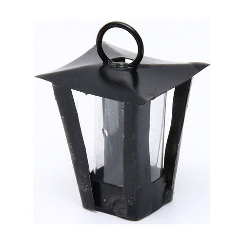 Lantern for DIY Nativity Scene real height 3 cm - 12V 2