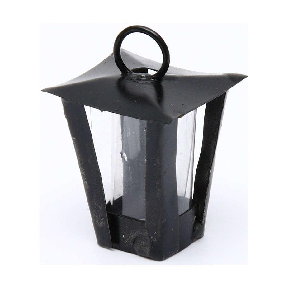 Lanterne bricolage crèche h réelle 3 cm - 12V 4