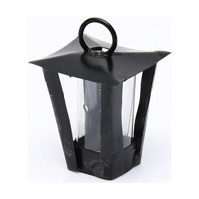 Lanterne bricolage crèche h réelle 3 cm - 12V s2