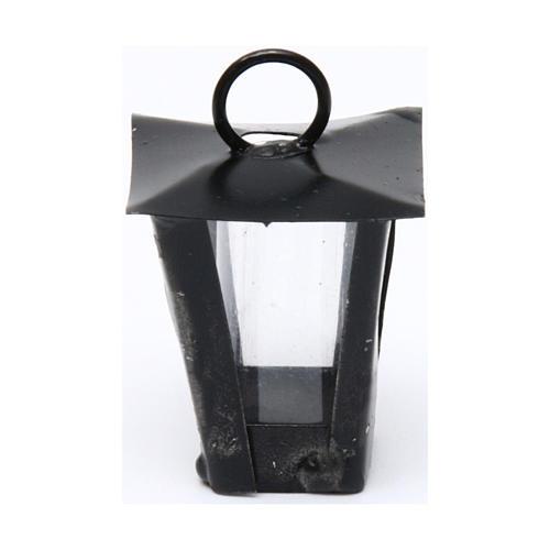 Lanterne bricolage crèche h réelle 3 cm - 12V 1
