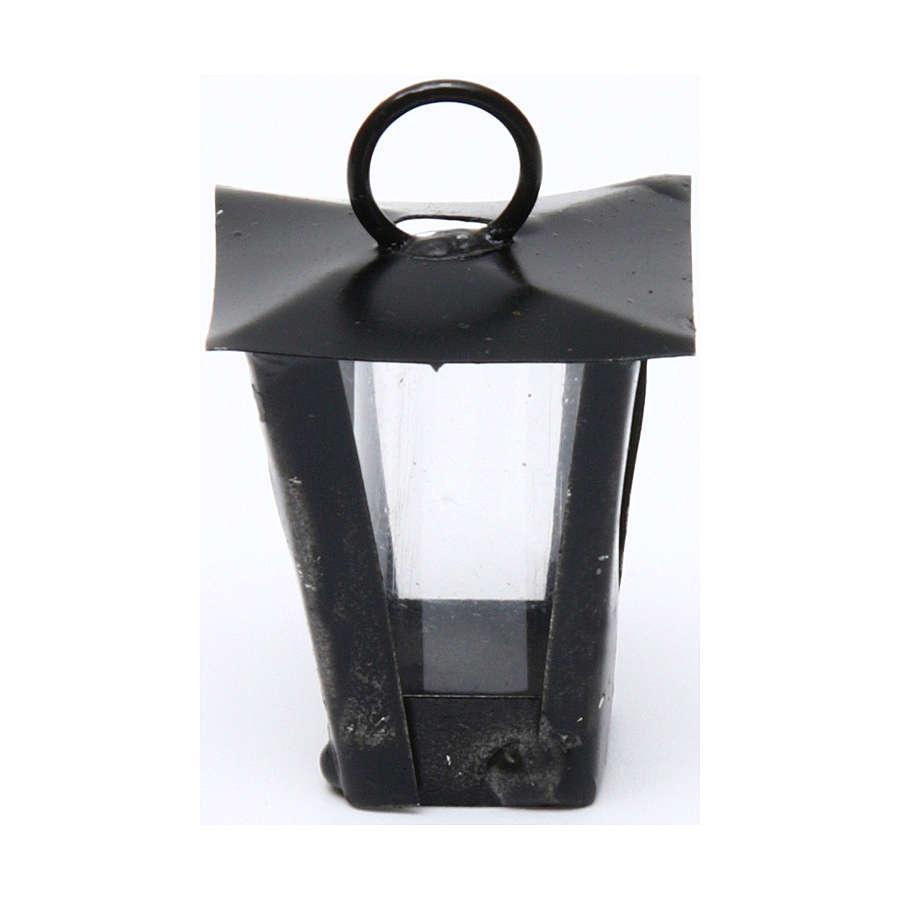 Lanterna presepe fai da te h reale 3 cm - 12V 4