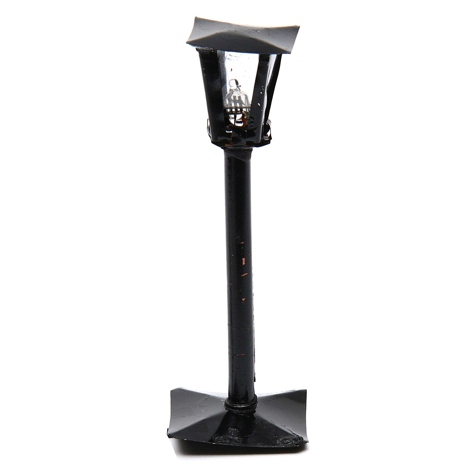 DYI Street Lamp with Lantern real height 11cm - 12V 4