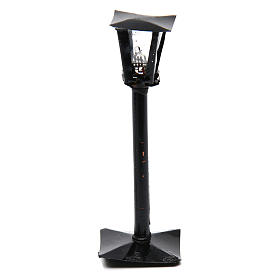 DYI Street Lamp with Lantern real height 11cm - 12V s1