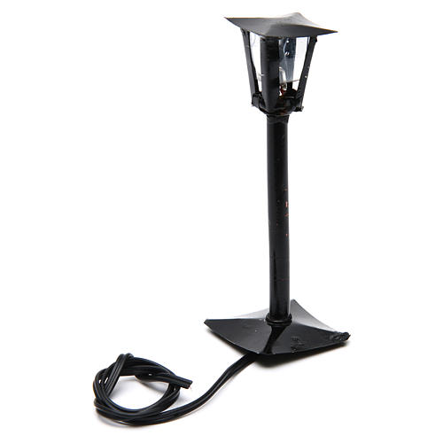 DYI Street Lamp with Lantern real height 11cm - 12V 2