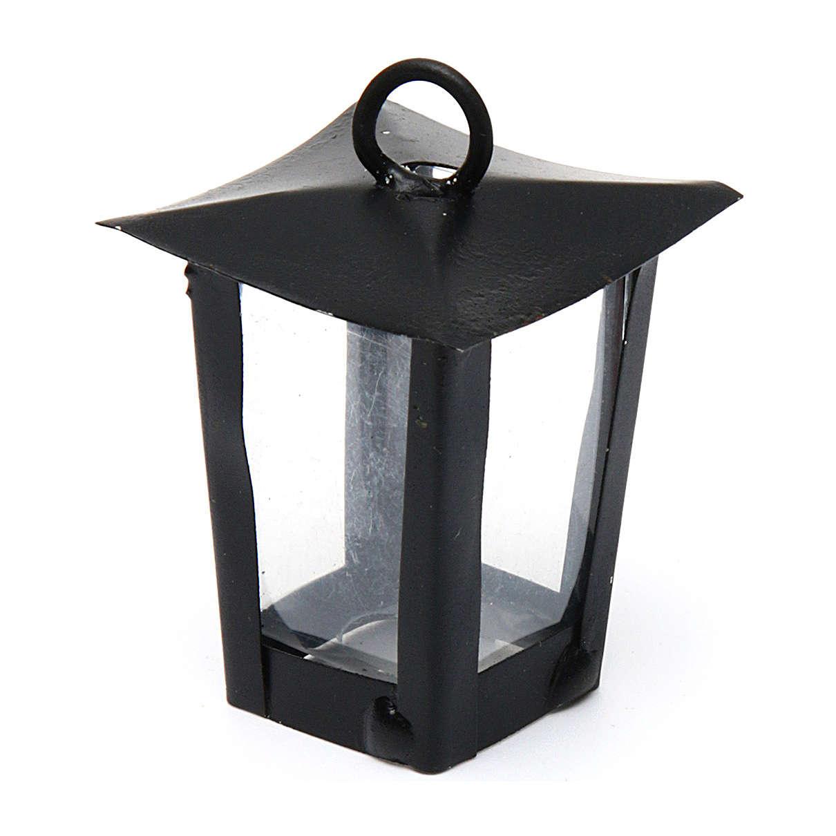Lanterna presépio altura real 4 cm - 12V 4